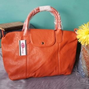 GaBaangs Burnt Orange Handbag. D188